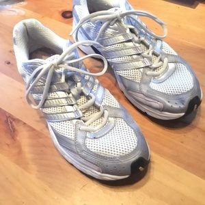 Adidas Shoes Silver Grey Size 10